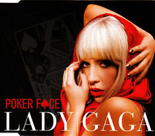 "LADY GAGA ""PokerFace"" 2008 2Trk CD Single *RobotsToMarsMix"