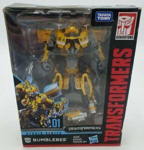 Transformers Generations Studio Series 01 Bumblebee Figure Hasbro New DMG Box