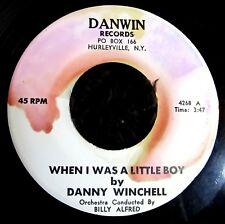 POP 45: DANNY WINCHELL on DANWIN When I Was a Little Boy (Jewish childhood song)