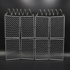 Barbed Wire Fence Prison Fence Removable 1/6 Scale for 12