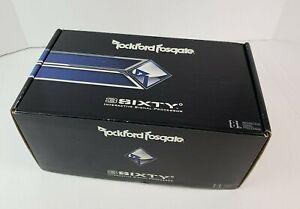 Rockford Fosgate 3SIXTY Digital Signal Processor w/ 8-Ch inputs/outputs NEW