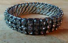 Rhinestone Bracelet Art Deco Costume Jewellery