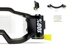 100% FORECAST Rolloff Goggle SYSTEM 45mm WIDE MOTOCROSS ENDURO fits ACCURI
