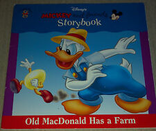 Old Macdonald Has a Farm ( Mickey and Friends Storybook) Paperback Book 1999