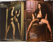 Grace Park 2x ISRAEL MINI POSTER Battlestar Galactica ASIAN BEAUTY Sexy LINGERIE