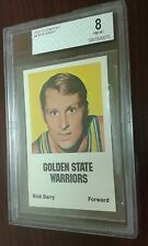 RICK BARRY 1972-73 COMSPEC  - BVG 8 NM-MT  GOLDEN STATE WARRIORS