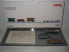 **NEU** Märklin 43471 Spanisch-Brötli-Bahn - erster Zug der Schweiz **OVP**