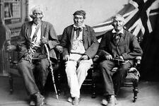 New 5x7 Photo: Last Surviving Six Nations Indian Veterans of the War of 1812