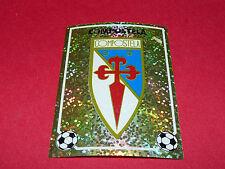 ESCUDO BADGE S.D. COMPOSTELA PANINI LIGA 96-97 ESPANA 1996-1997 FOOTBALL