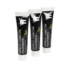 Bamboo Charcoal Toothpaste 3-Pack Fluoride Free Natural Mint Flavour Toothpaste