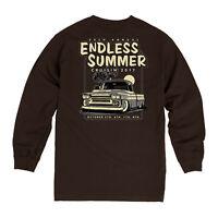 2017 Cruisin Endless Summer car show long sleeve t-shirt brown Ocean City MD