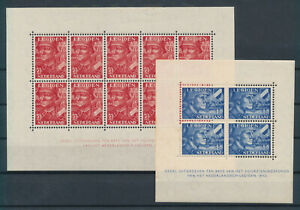 (13762) NETHERLANDS - 1942, NVPH 402B/403B, Legioenblokken, MNH, rust, see scan