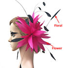 80 Colours Twisted Feather Mount Goose Feathers Flower Millinery Hat Fascinator