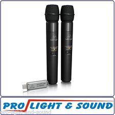 Behringer ULM202USB 2 Digital Wireless Handheld Microphones