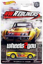69 CORVETTE RACER - 2016 Hot Wheels Car Culture HW REDLINERS Real Riders