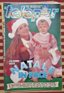 TELEPIU' N 52 DAL 26 DICEMBRE 1993 AL 01 GENNAIO 1994 GRECIA COLMENARES VINTAGE