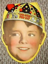 Little Rascals OUR GANG FUN KIT 1937 Morton Salt Premium COMPLETE MASK Booklet!