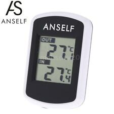 Anself LCD Digital Wireless Indoor Outdoor Thermometer Weather Tester New H3L8