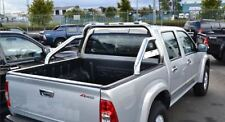 To Fit 1996 - 2005 Mitsubishi L200 Triton Sport Roll Bar Stainless Steel 4x4