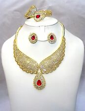 Lovely High Quality  Beautiful Necklace Costume Set Jewellery