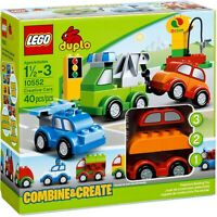 LEGO Duplo Creative Cars Combine and Create #10552 w/ Extra Pcs Lot#12 **USED**