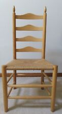 SHAKER STYLE LADDERBACK Side Chair   Candle FlameTop