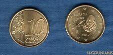 Espagne - 2017 - 10 Centimes D'Euro - Pièce neuve de rouleau - Spain