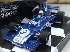 #3 Tyrrell Ford 007 Jody Scheckter 1975 Diecast Model F1 Car 1/43 Minichamps