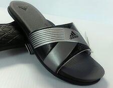 Women's Adidas Supercloud Plus Slide Sandal Color Black/Gray/Silver Size 9