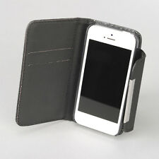 VW iPhone 5 Case Wallet Holder - Bi-Fold Volkswagen DriverGear - Black