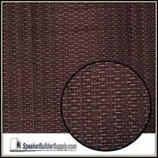 Oxblood grill cloth -replacement for Fender amps 24in x 36in size
