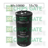 3PCS AUDIO Electrolytic Capacitor PANASONIC(size)35*50mm 10000UF80V/80V10000UF