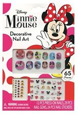 Disney Minnie Mouse Bowtique 65 Piece Decorative Nail Art Kit (NEW)