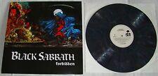 BLACK SABBATH - FORBIDDEN 2014 reissue DARK GREY VINYL test ltd to 6