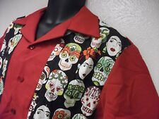 DAY OF THE DEAD 15th Annual 2015 XTO Pin Head Bowling Tournament Shirt L