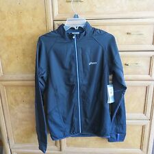 Men's Asics Running water/wind resistant jacket reflective size S new NWT $95