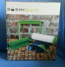SushiQuik Sushi Making Kit Tools-At Home - 4 Easy Steps NEW