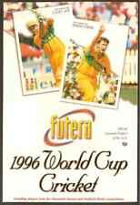 FUTERA 1996 WORLD CUP CRICKET COMPLETE BASE Set of 100 CARDS