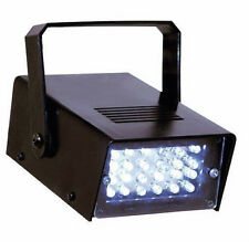 Luce stroboscopica,flash bianco intermittente.Strobo disco,DJ,discoteca,Lampada.