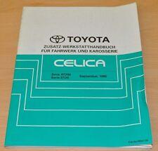 Werkstatthandbuch Reparatur Toyota Celica AT ST  Zusatz Fahrwerk Karosserie 1995