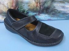 Women's NOAT Black Leather Mary Jane Sz 41/10