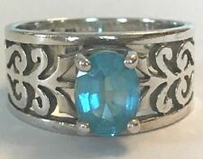 ❤️JAMES AVERY ADOREE RING ~ with Blue Topaz  💍 ~ Size 6.5 ~ SILVER  ~ JA BOX❤️