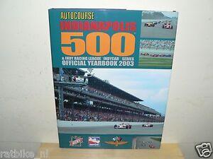 AUTOCOURSE INDIANAPOLIS 500,INDYCAR,YEARBOOK 2003