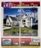 Vintage 1997 Dream Home Plans PC Software Windows 95 3.1 CD-ROM New Sealed