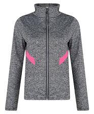 Women Active Run Wear Ladies Gym Sports Jacket Leggings Zip Top Yoga Pants S-XL