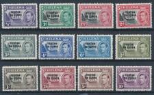 [56840] Tristan Da Cunha 1952 good set MH Very Fine stamps $170