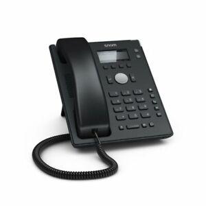 SNOM D120 2 Line BW LCD 5 Keys 10/100 PoE IP VoIP SIP Phone