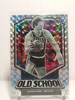 Larry Bird 2019-20 Panini Mosaic Old School Silver Mosaic Prizm #8 Celtics