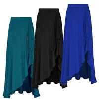 Adult Womens Dance Ballet Long Maxi Wrap Skirt Costume Ballet Summer Boho Dress