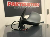 VW T5 T6 CARAVELLE TRANSPORTER DOOR MIRROR PASSENGER SIDE ELECTRIC POWER FOLDING